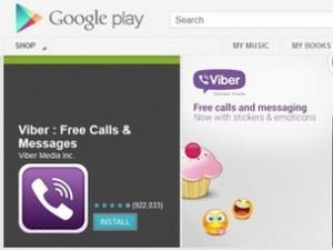 Viber in Google Play