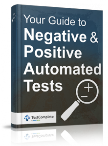 Free ebook Negative Positive Automated Tests
