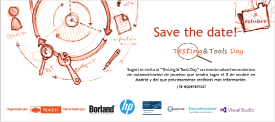 Testing & Tools Day Save the date