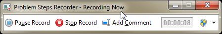 Opciones durante grabación