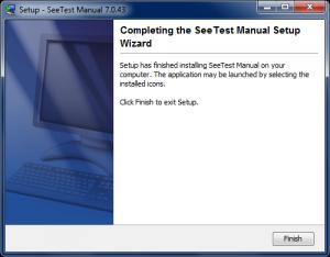 Instalación SeeTest Manual