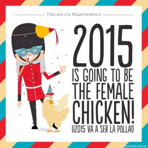 2015 is going to be the female chicken