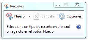 Recortes - Heramienta Windows gratis