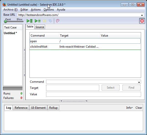 Selenium IDE 2.8.0