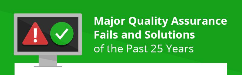 Los fallos más graves en Aseguramiento de la Calidad de Software de los últimos 25 años