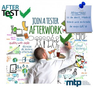 Join a Tester afterwork