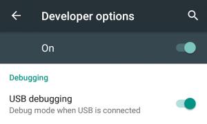 USB-debugging