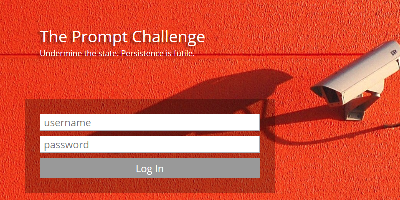 The Prompt Challenge