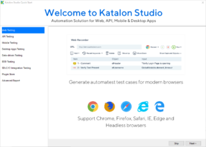 Katalon Studio 7 Beta