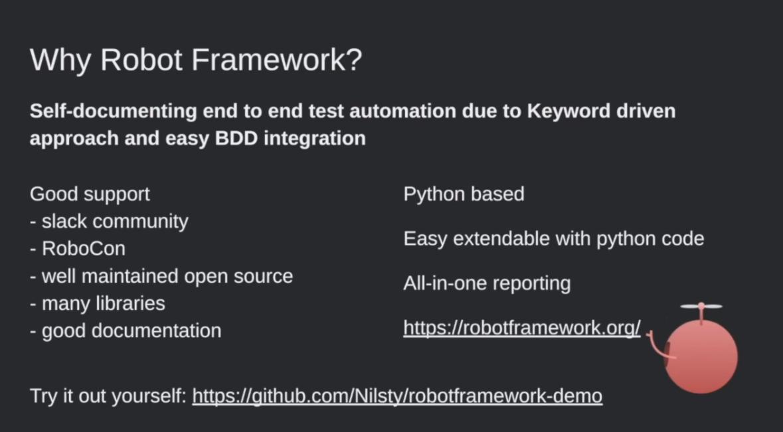Extending Robot Framework with custom Keywords, Nils Balkow-Tychsen